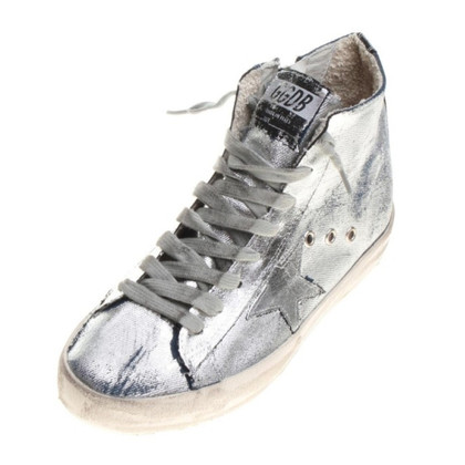 Golden Goose Silver sneakers