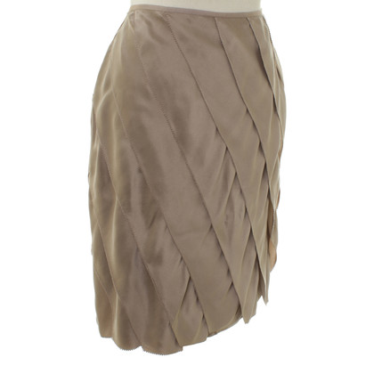 Marc Cain Silk skirt with flounces
