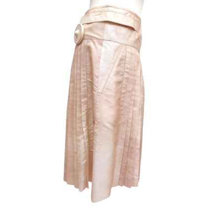 Christian Dior Pleated skirt of silk