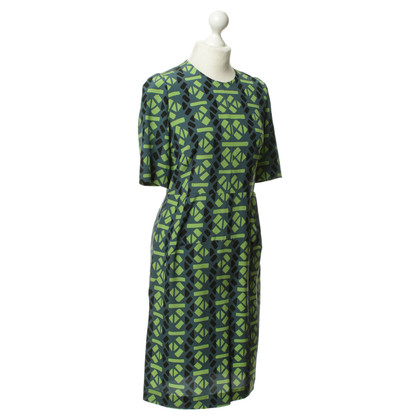 Marni Green pattern dress
