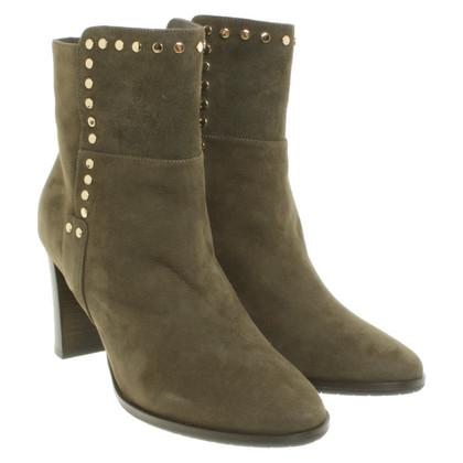 Jimmy Choo Khaki ankle boots