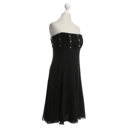 Armani Bandeau dress in black