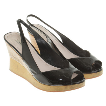 Miu Miu Wedges in black