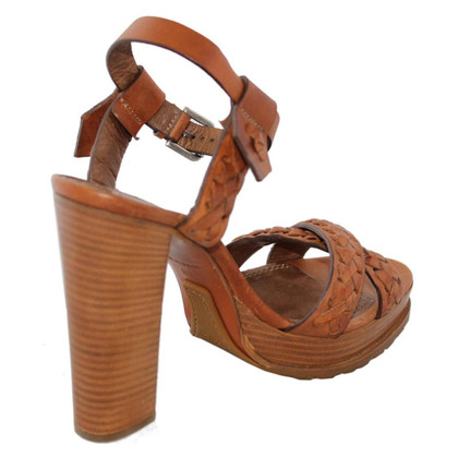 Ralph Lauren sandali di cuoio