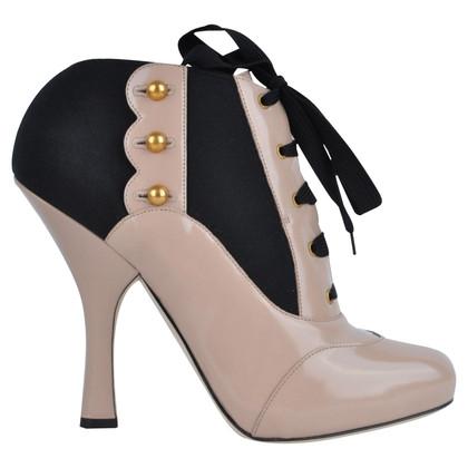 Dolce & Gabbana RUNWAY Baroque Boots Beige