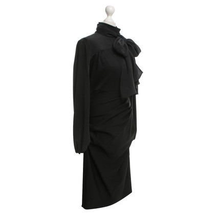 Sport Max Dress with cloth in black