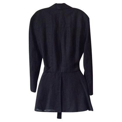 Armani Jeans Overhemdjas in zwart