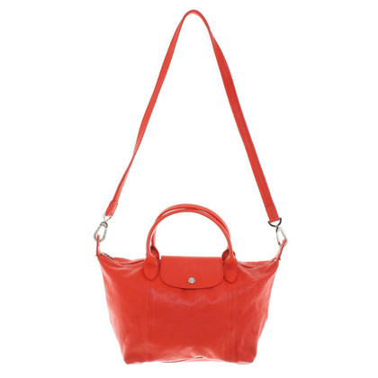 Longchamp Handtasche in Rot