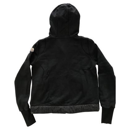 Moncler Giacca di cotone nera