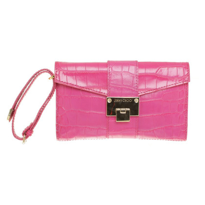 Jimmy Choo clutch in Pink