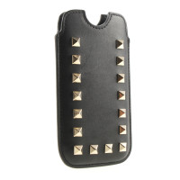 Valentino Leather case with rivets