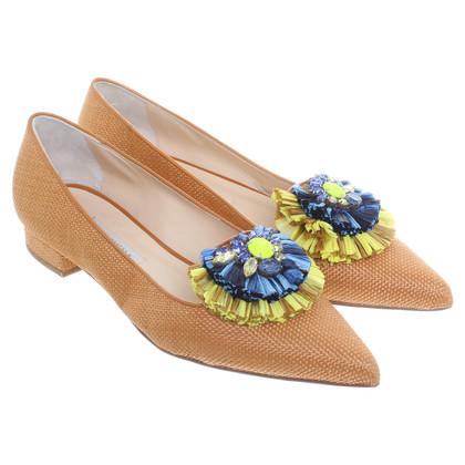 Andere merken Bionda Castana - bruine slippers van bast