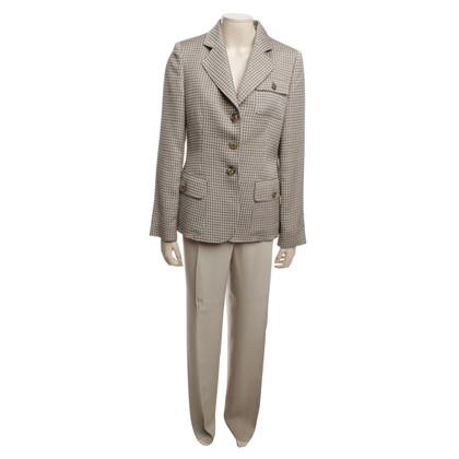 Armani Collezioni Pantsuit en gris / beige