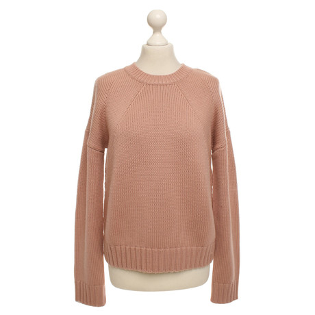 360 Sweater Pullover aus Wolle Nude