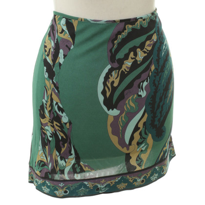 Emilio Pucci skirt with floral print
