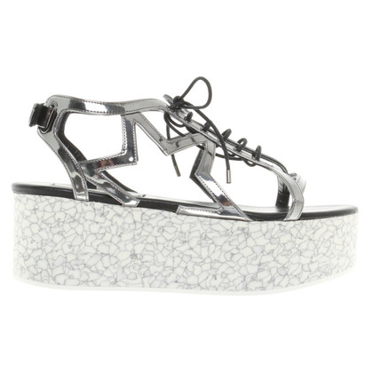 Stella McCartney Sandals with plateau heel