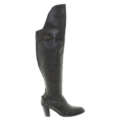 Belstaff Leather boots in black