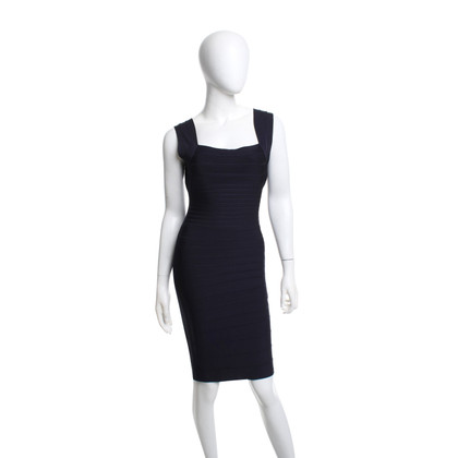 Hervé Léger Dress in blue
