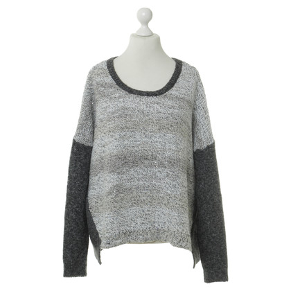 French Connection Sequin sweater in grey