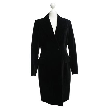 Pauw Velvet coat in black