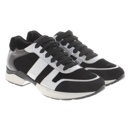 Tod's Sneakers in black / silver