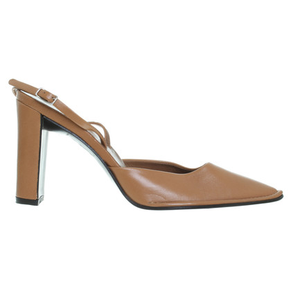 Jil Sander Pumps in Braun