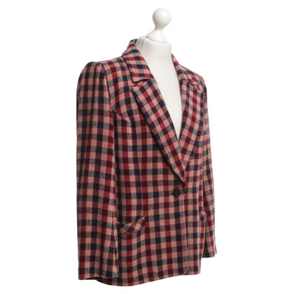 Sonia Rykiel Blazers with check pattern