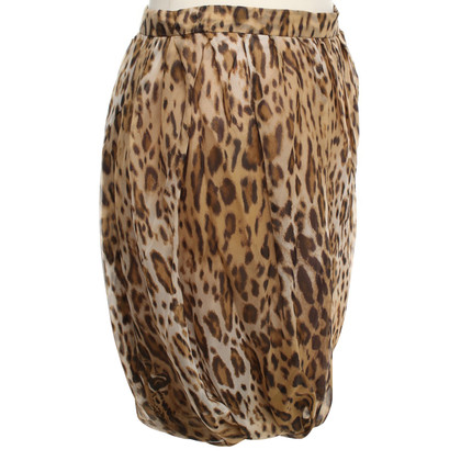 Wunderkind skirt with animal print