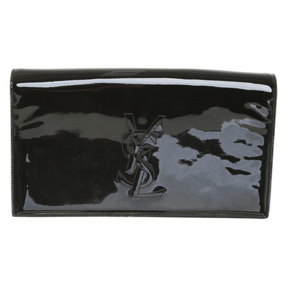 Yves Saint Laurent Patent leather clutch