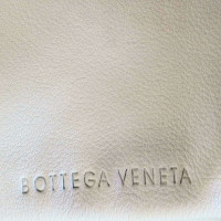 Bottega Veneta Leather clutch in white