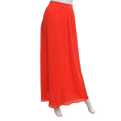 Whistles maxi gonna in rosso