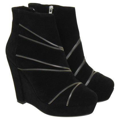 The Kooples Plateau-Wedges mit Zipper Details