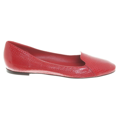 Valentino Loafers in red