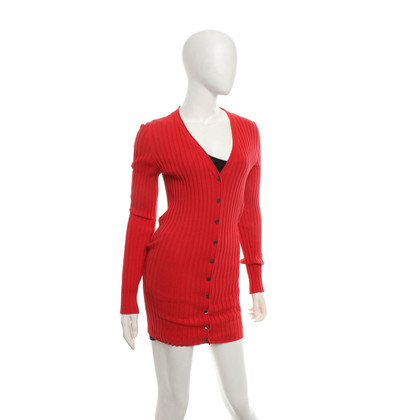 Dolce & Gabbana Rib knit jacket in red