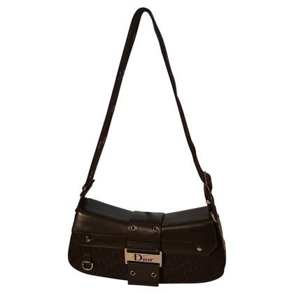 Christian Dior Borsa marrone e borsa in pelle