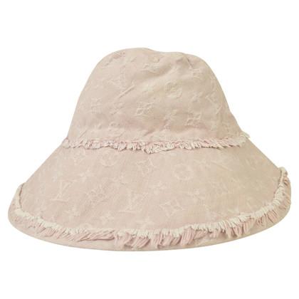 Louis Vuitton Hut auf Monogram-Denim