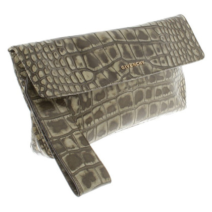Givenchy clutch in verde