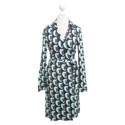 """Diane von Furstenberg Wrap dress """"New Jeanne Two"""" made of silk"""