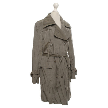 Laurèl Trenchcoat in Grau/Grün
