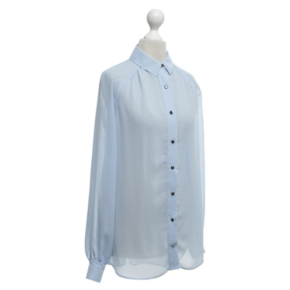 Reiss Bluse in Blau
