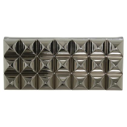 Philipp Plein clutch with metal rivets