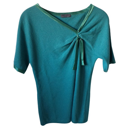 Alberta Ferretti Shortsleeves sweater in Wool and Silk