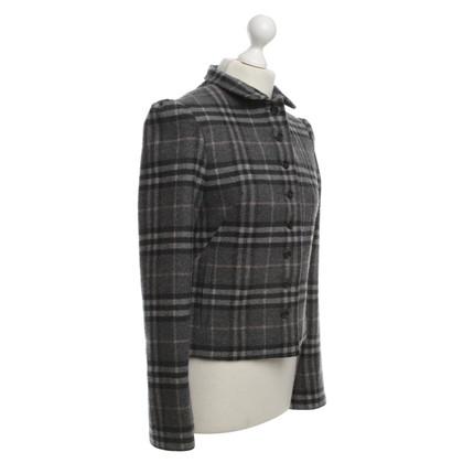 Burberry Karierte Woll-Jacke