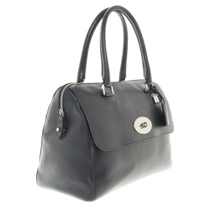 Mulberry Navy colored shopper