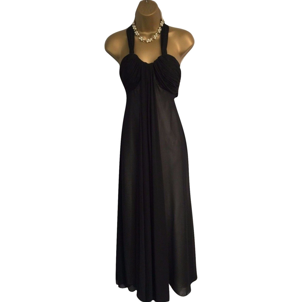 Amanda Wakeley Schwarzes Cocktailkleid - Second Hand Amanda Wakeley ...