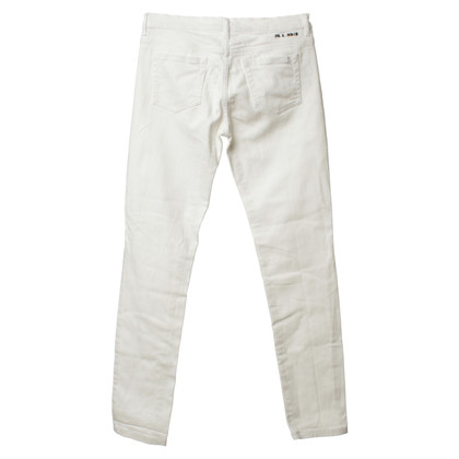 Jil Sander Jeans in white