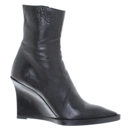 Ann Demeulemeester Wedges in black