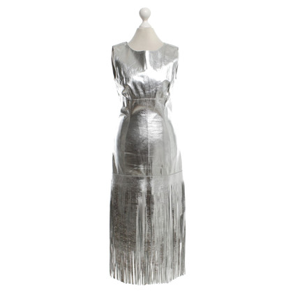 Other Designer Giles - Leather dress with fringes