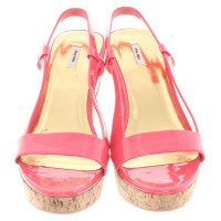 Miu Miu Wedges of patent leather