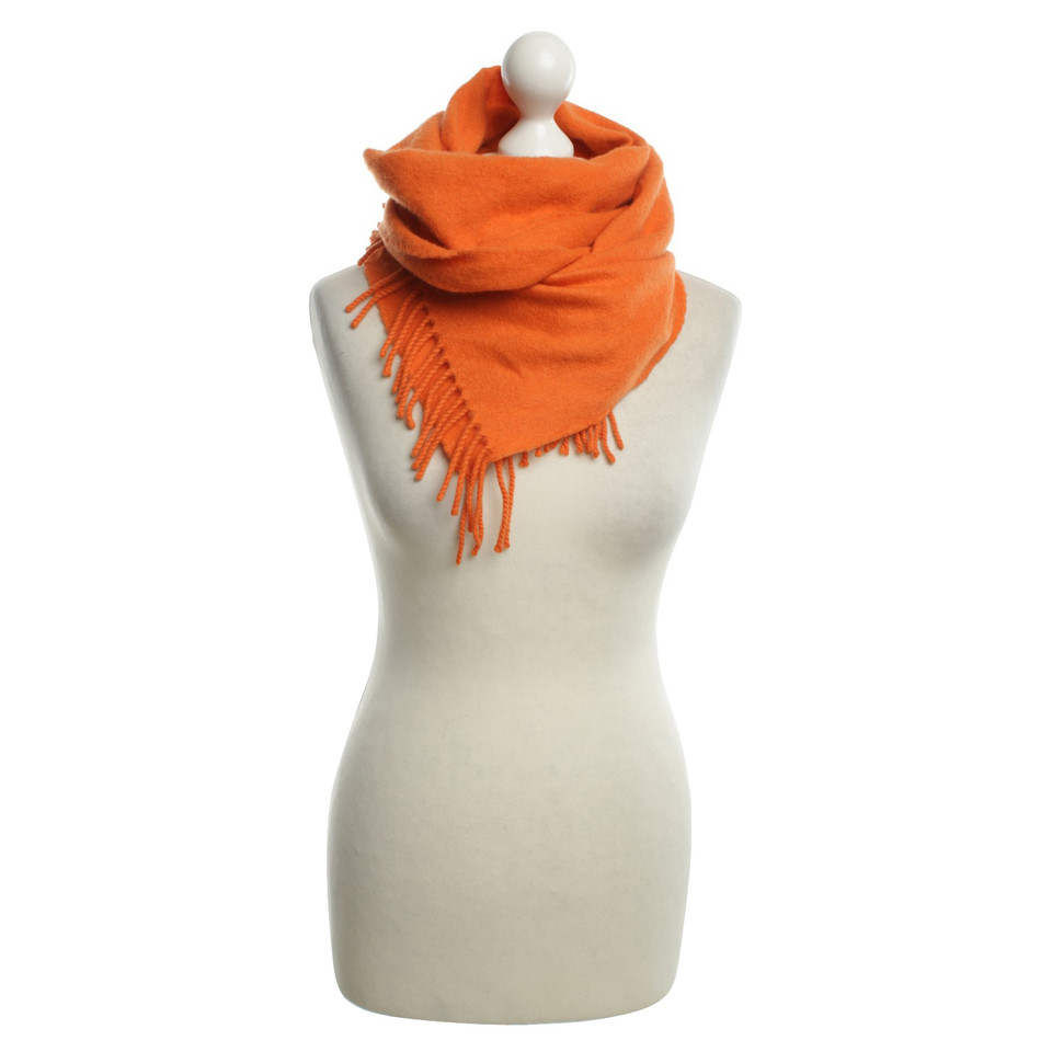 herm s scarf in cashmere buy second hand herm s scarf in cashmere for. Black Bedroom Furniture Sets. Home Design Ideas